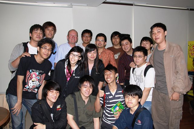 International Seminar Game Industry with Mr. Ian LivingStone