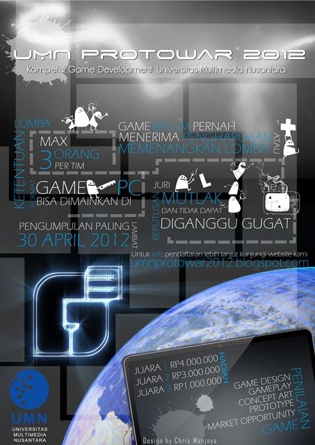 PROTOWAR 2012 (Deadline lomba diundur sampai 7 Mei 2012)