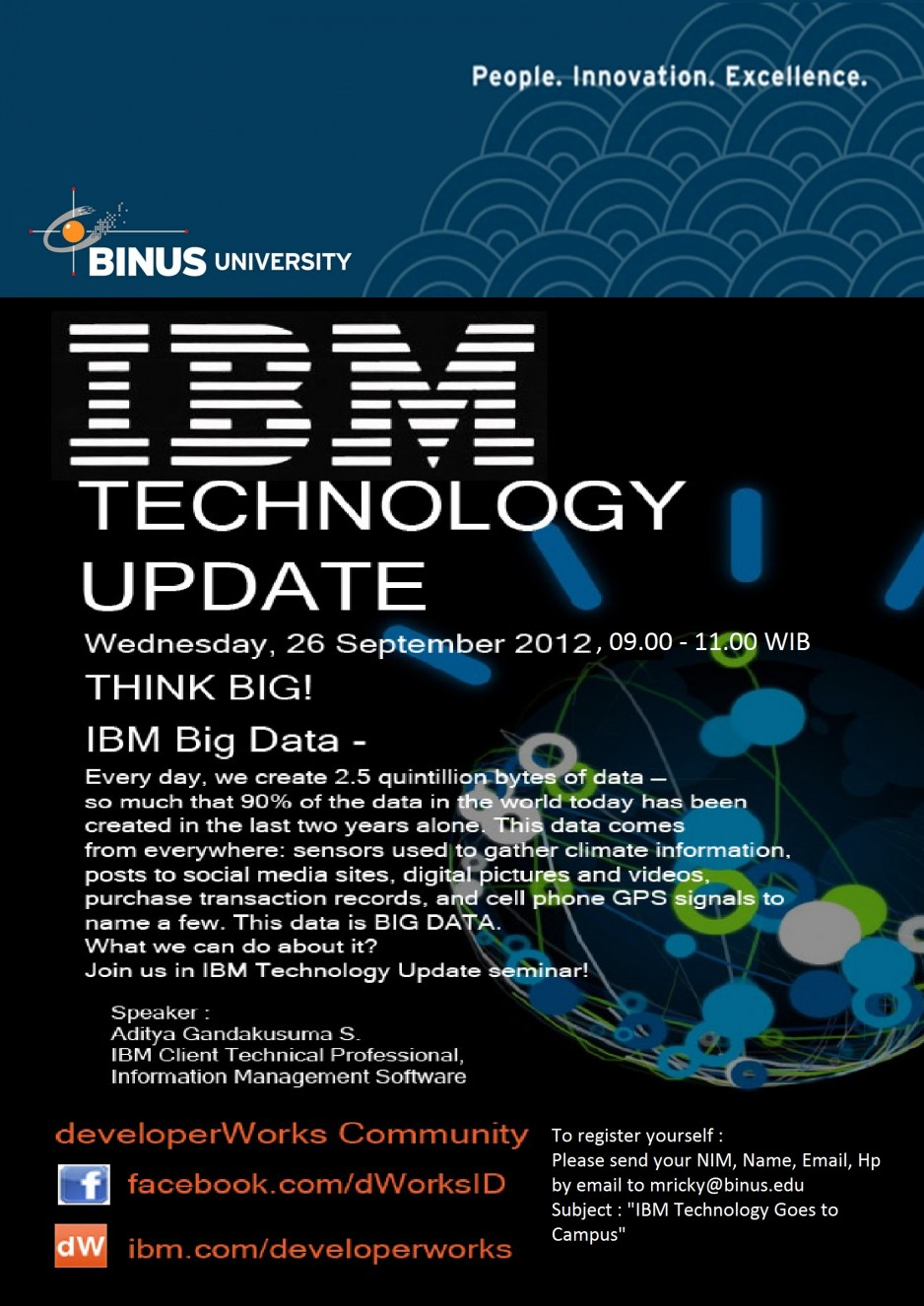 Poster Ibm Goes To Campus