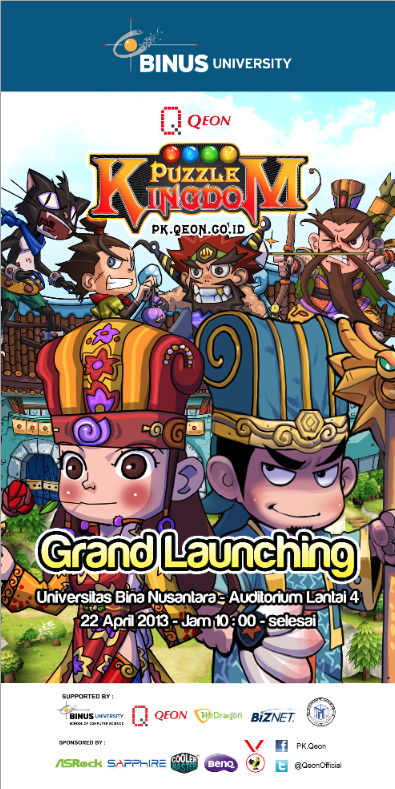 Grand Launching Puzzle Kingdom