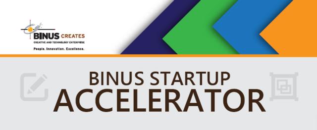 binus startup accelerator