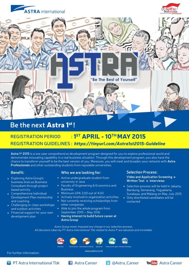 Astra 1st 2015 scholars