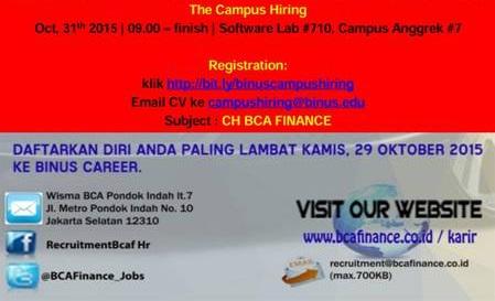 bca finance 2