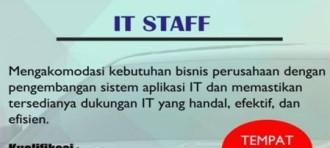 Junior Staff Recruitment