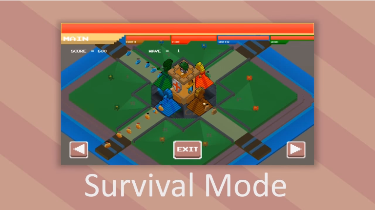 CUBE TOWER DEFENSE