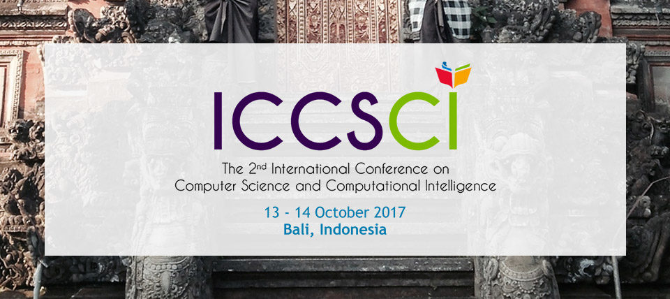 About ICCSCI 2017