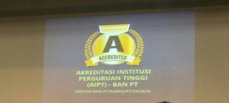 Penyerahan SK Akreditasi Institusi Perguruan Tinggi ( AIPT ) – BAN PT Kepada BINUS University