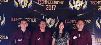 Tim Titan Tech Mewakili BINUS University Pada Technocorner 2017
