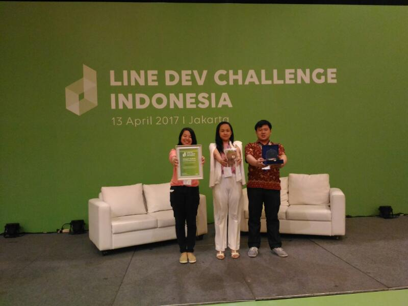 LINE DEV CHALLENGE 2017 1ST WINNER – STUDENT CATEGORY!