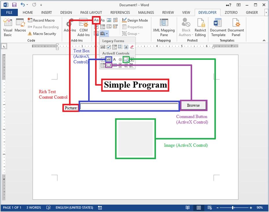 Programming in Microsoft Word (Part 2)