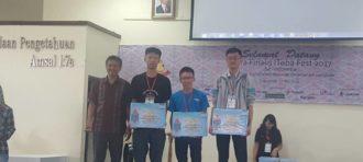 Mahaiswa SoCS BINUS University Meraih Juara di Kompetisi IToba Fest 2017