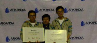 Jollybee dan Petir Juara Pada Kompetisi Arkavidia 4.0