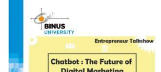 Entrepreneur Talkshow – Chatbot : The Future of Digital Marketing