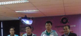 Tim Jollybee Pada Kompetisi ACM ICPC Hua Lei Regional 2017