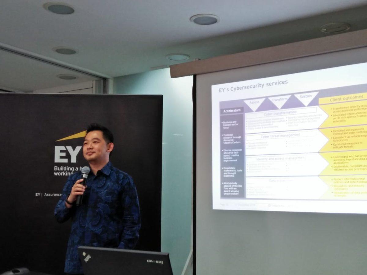 Industry Visit Cyber Security Program Mengunjungi Ernst & Young