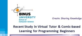 "Create Sharing Knowledge : ""Recent Study in Virtual Tour and Comic-based Learning for Programming Beginners"""