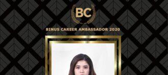 Mahasiswa Computer Science Binus Bandung First Runner Up Binus Career Ambassador 2020
